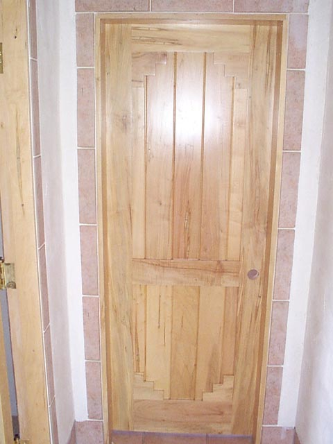Bedroom Door Installed